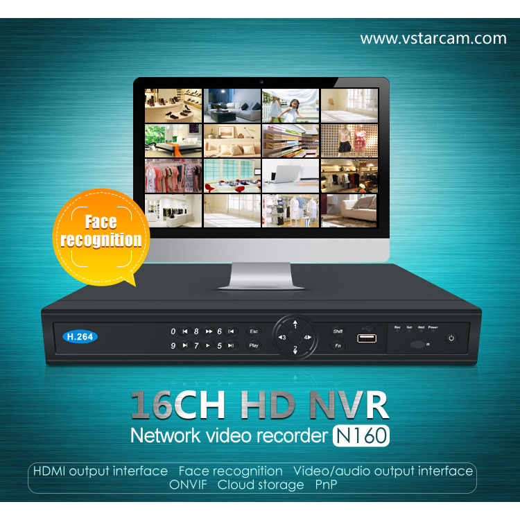 Đầu ghi hình 16 kênh Eye4 Vstarcam N160